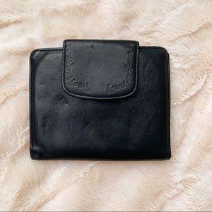 Buxton Black Leather Wallet